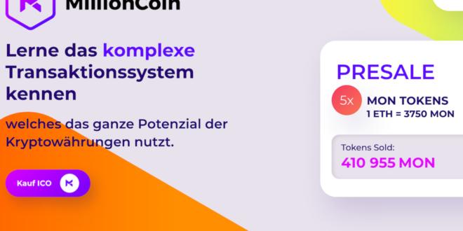 MillionCoin führt neuen Bot zur Automatisierung von Transaktionen ein