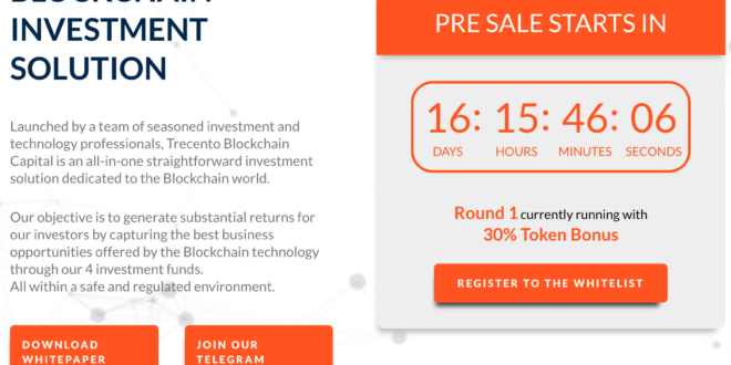 ICO von Trecento Blockchain Capital