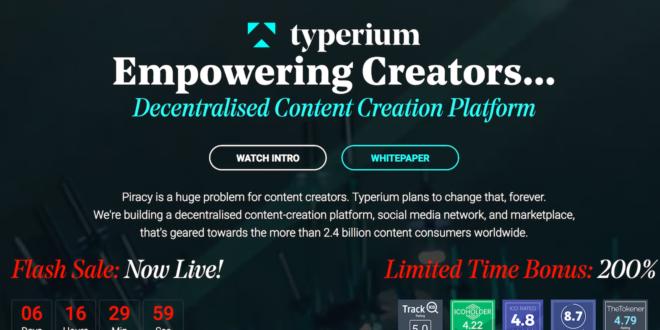 Typerium meldet zwei Patente an