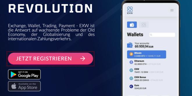 EXW: Wallet, Trading und vieles mehr in einem